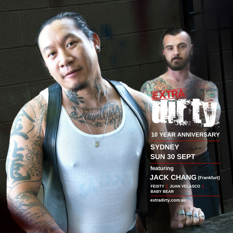 Extra Dirty 10th Anniversary Tour  • Headlined by DJ Jack Chang [Frankfurt - Techno Set]